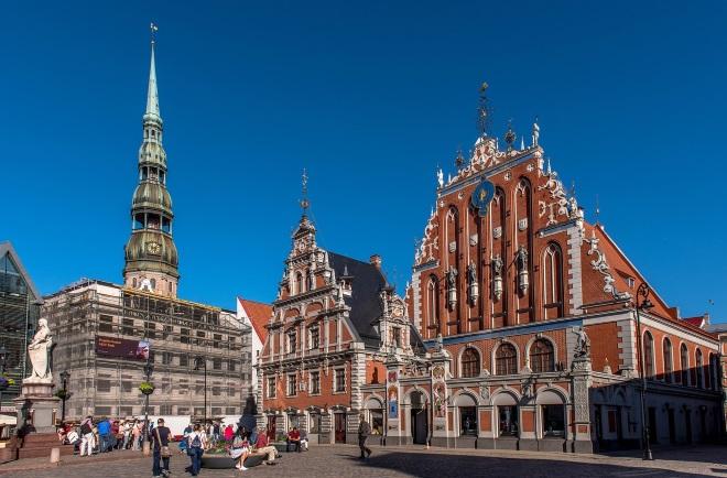Plaza del Ayuntamiento de Riga
