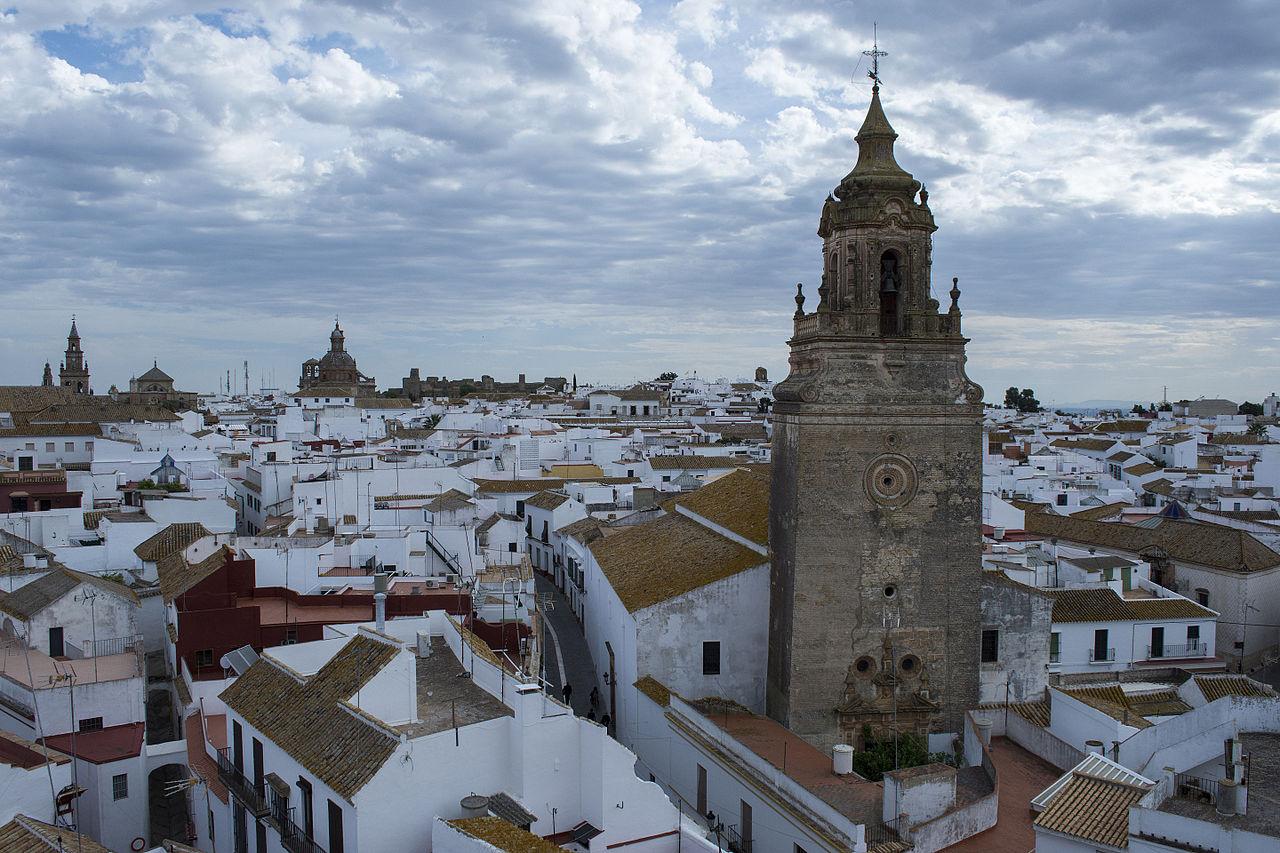 El pueblo de Carmona en la provincia de Sevilla