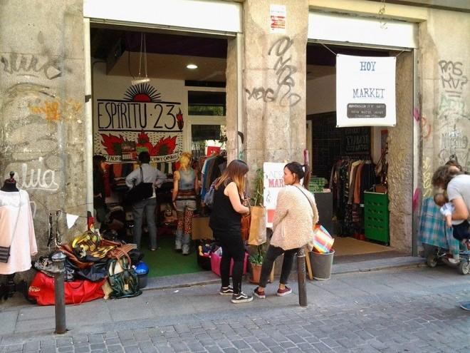 Entrada del Adelita Market