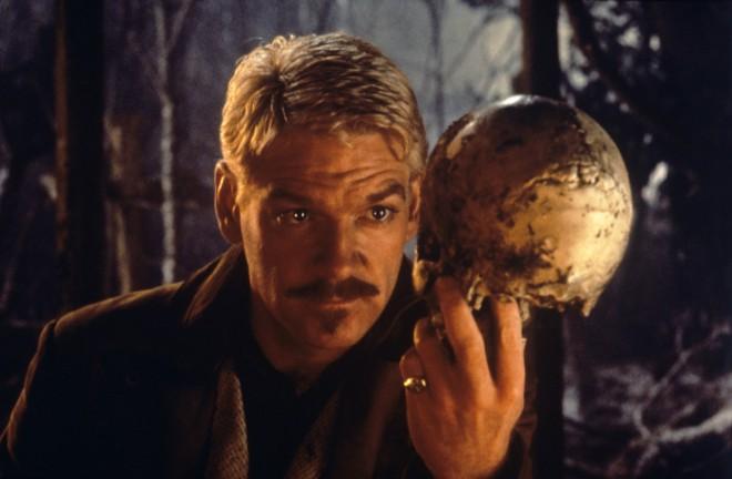 Kenneth Branagh en su interpretación de Hamlet en la película homónima