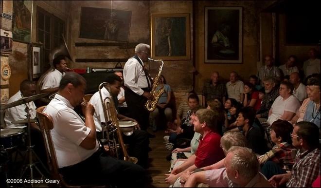 Concierto de Jazz en Nueva Orleans