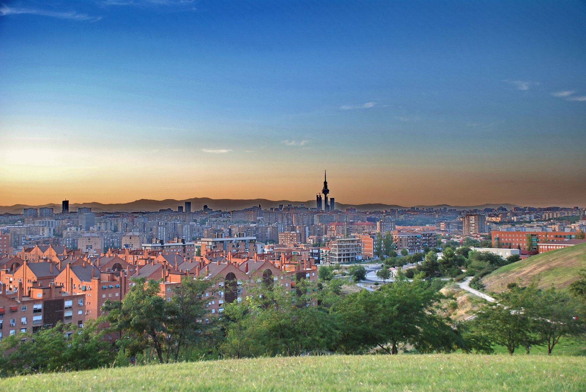 El parque de las 7 tetas de Madrid