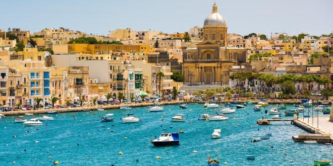 Malta-Valeta-vista