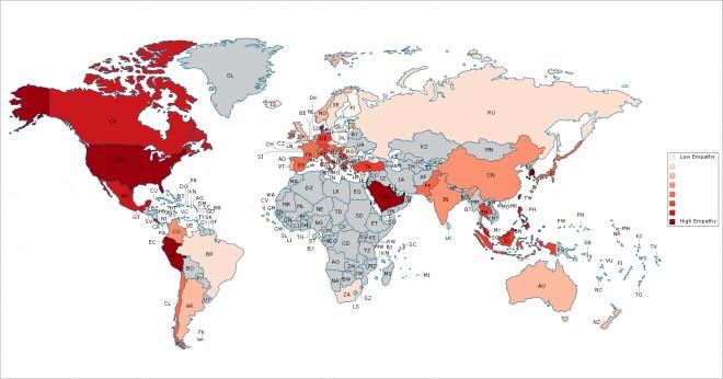 Mapa Mundial de la Empatía