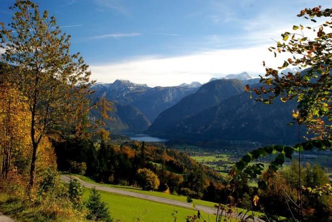 Paisajes de los alrededores de Hallstatt