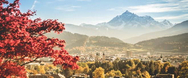 Otoño en Innsbruck