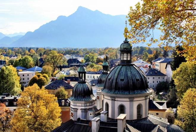 Otoño en Salzburgo