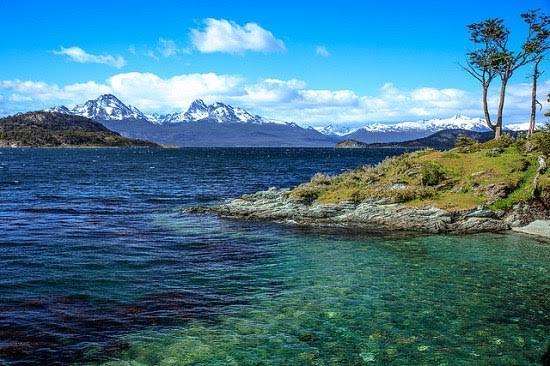 Lago Argentina en la Patagonia