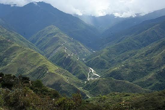 Coroico, en Bolivia