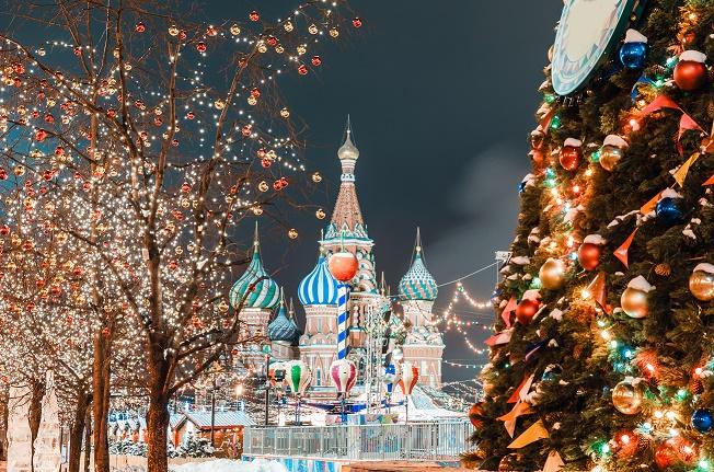 Navidades en Moscú