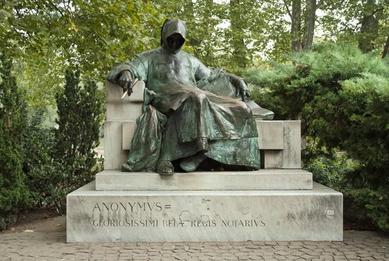 Escultura del personaje anónimo (Budapest)