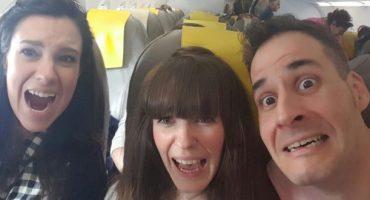 Travel bloggers con miedo al avión