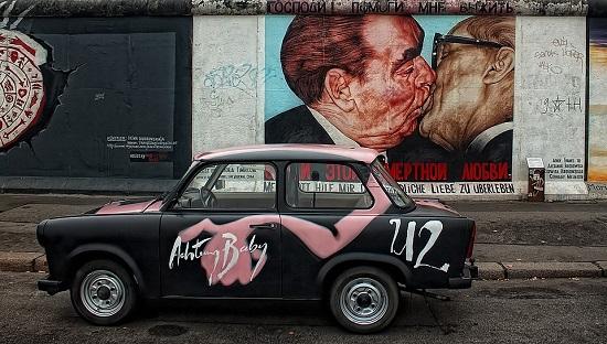 Berlín-mural