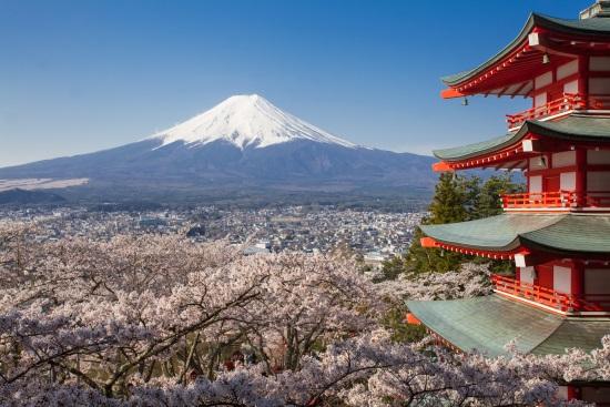 Fuji-fondo