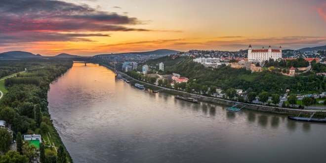 Danubio-Bratislava-Castillo