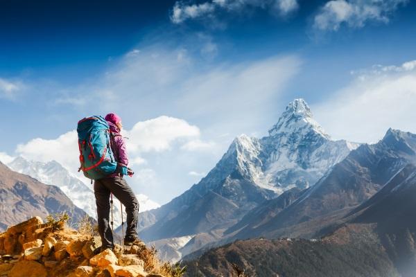 montaña-mochila