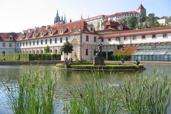 Jardines Wallenstein, en Praga