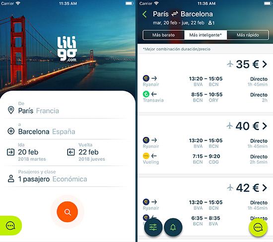 liligo-ios-app-capturas