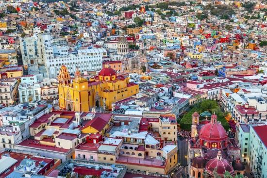 Guanajuato, ciudad de herencia virreinal en México