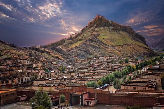 gyangze_fuerte_tibet_cultura