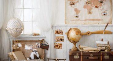 Decorar tu habitación como un gran viajero