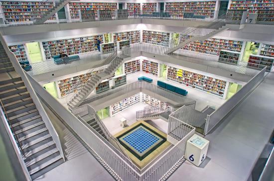 vista-biblioteca-libros-escaleras