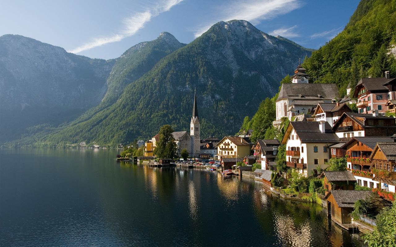 Hallstatt, en Austria