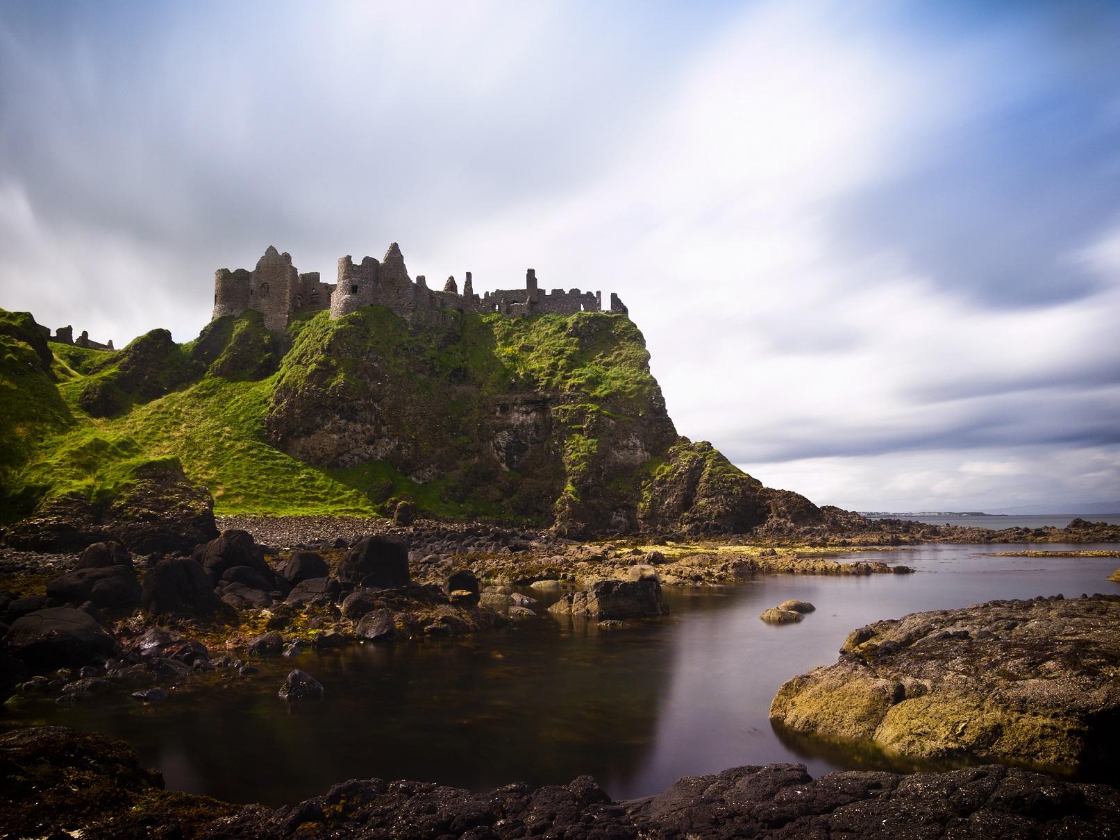Dunluce Castle, en Irlanda