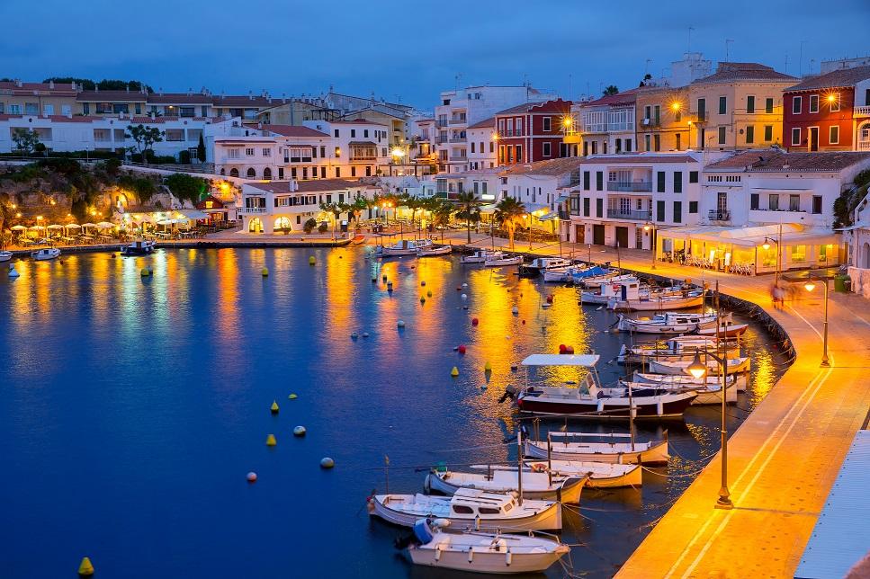 Mahón, capital de Menorca