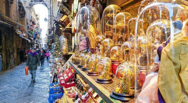 Mercado de navidad de Nápoles