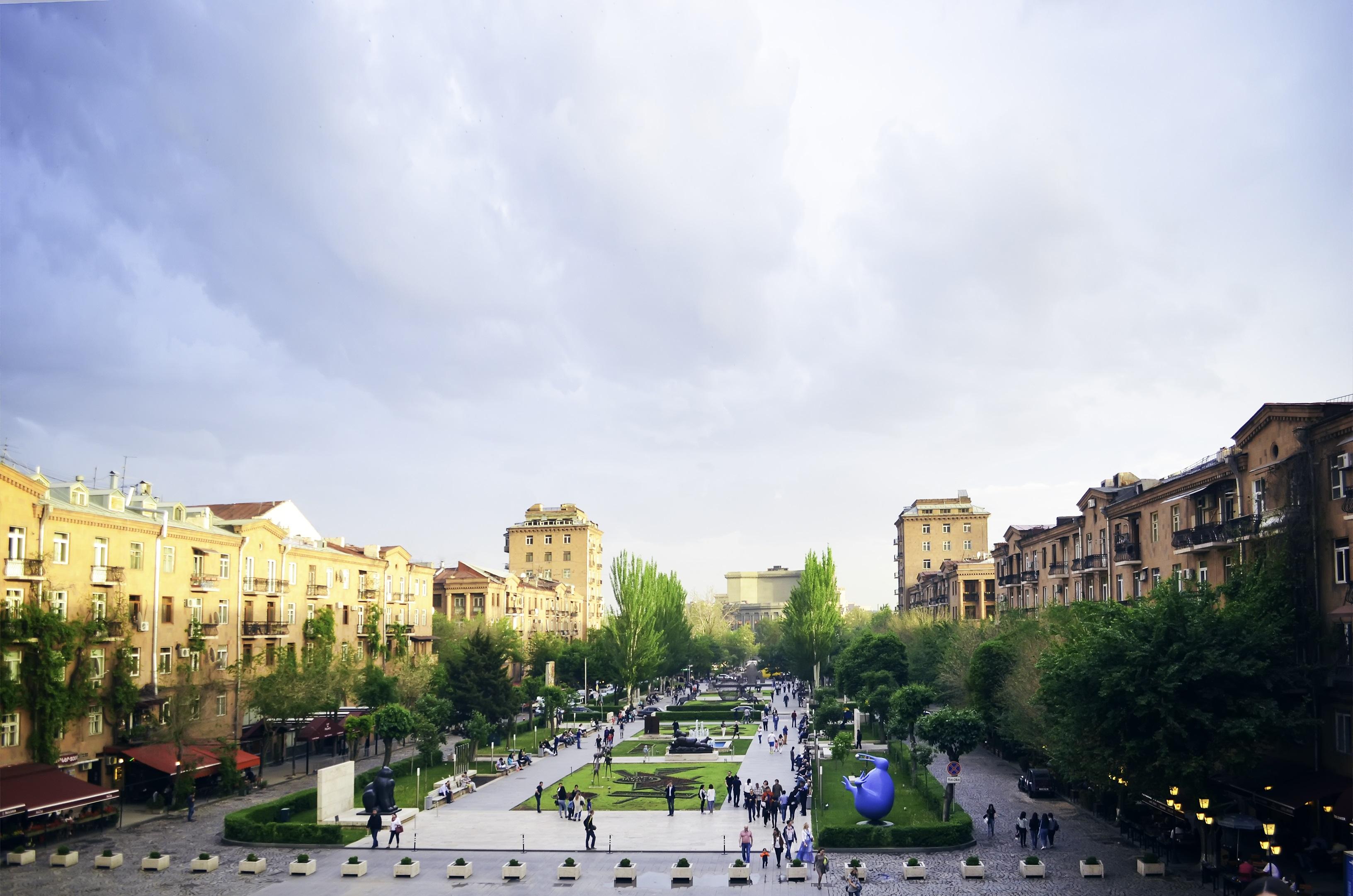 Erevan, capital de Armenia
