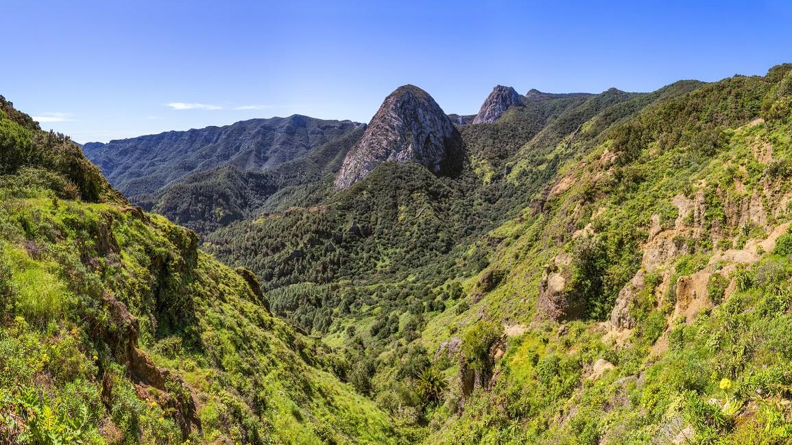 Parque Nacional de Garajonay, en La Gomera (Islas Canarias)