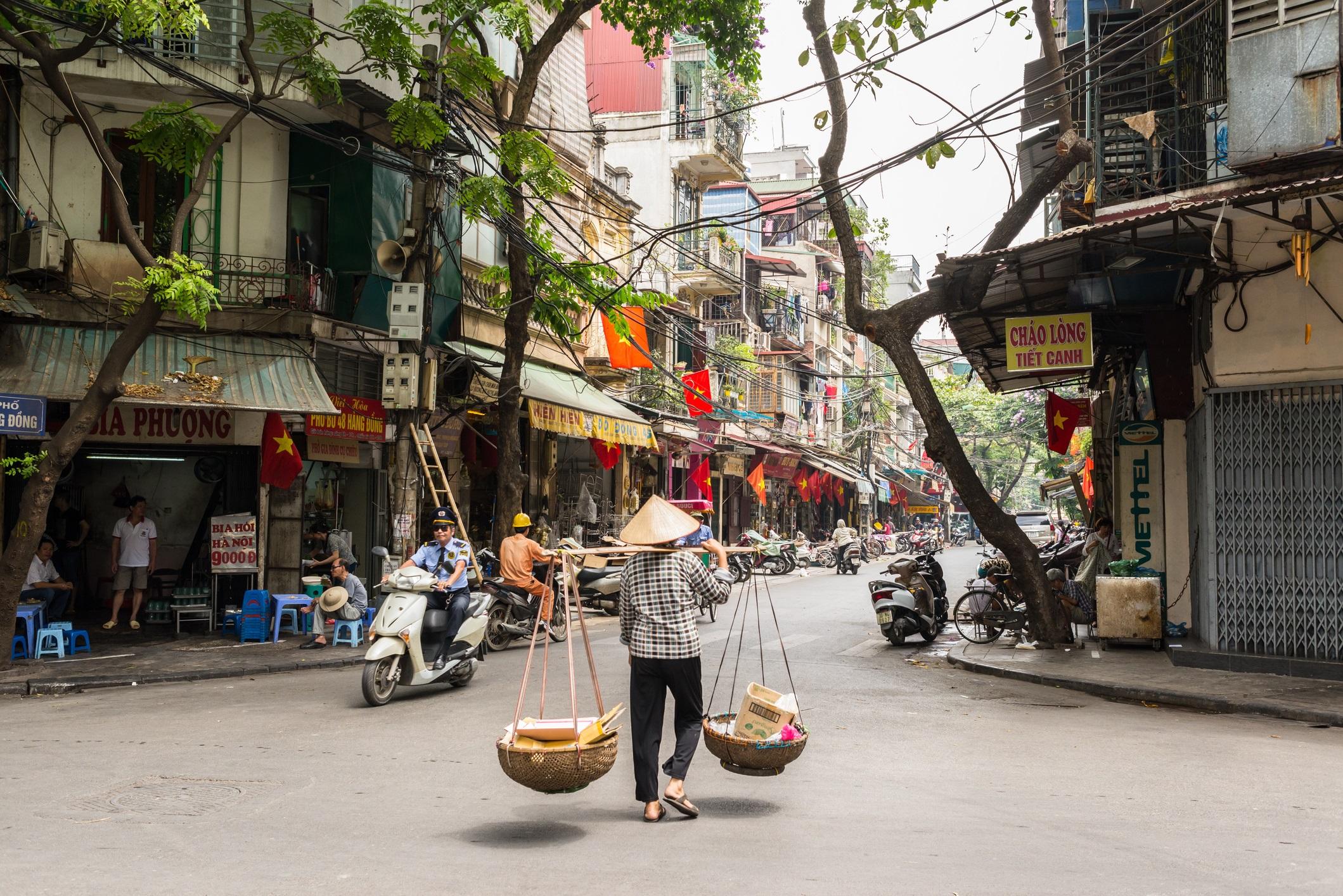 Hanoi, en Vietnam