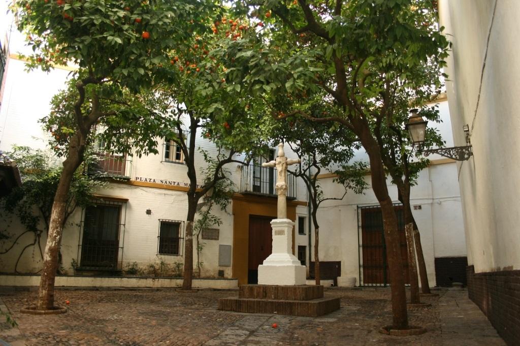 Plaza de Santa Marta, en Sevilla