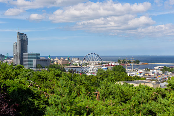 Gdynia, ciudad accesible