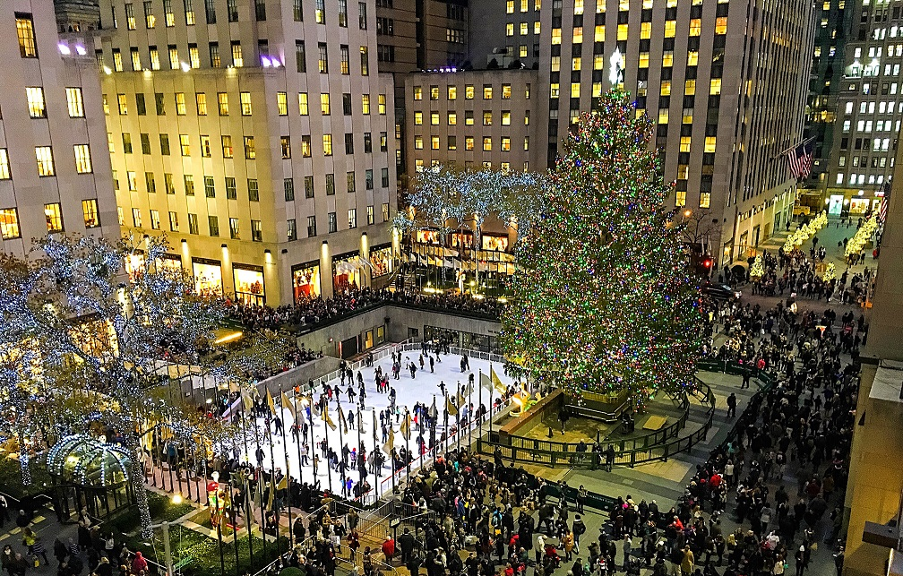 Rockefeller Center, en Nueva York
