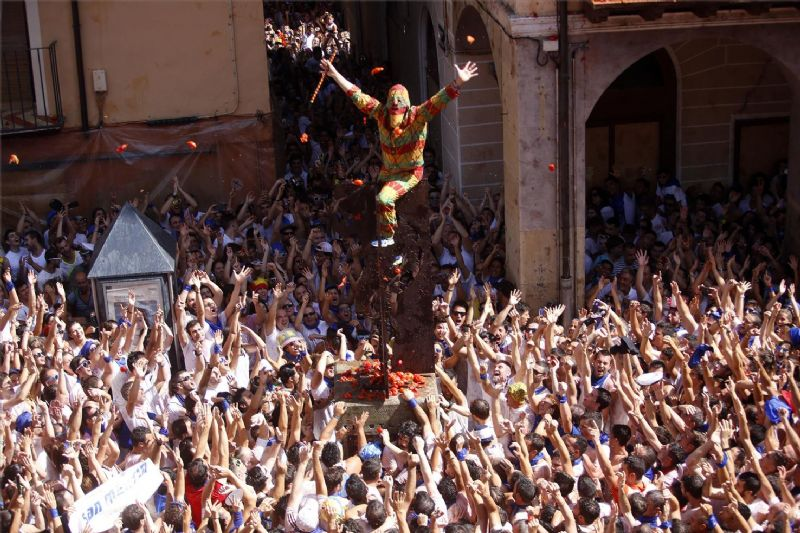 La fiesta del Cipotegato, en Tarazona (Aragón)