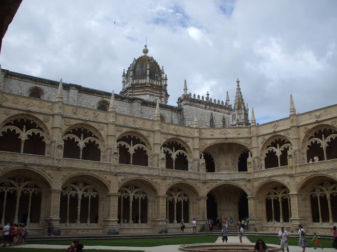 El Monasterio de los Jerónimos, en Lisboa