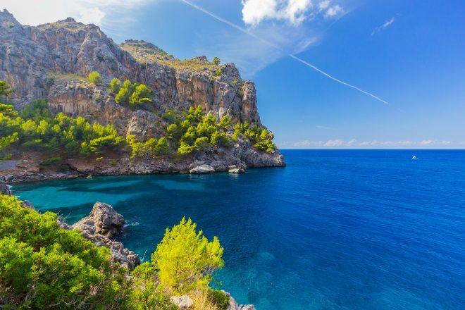 Cala Sa Calobra, en Mallorca