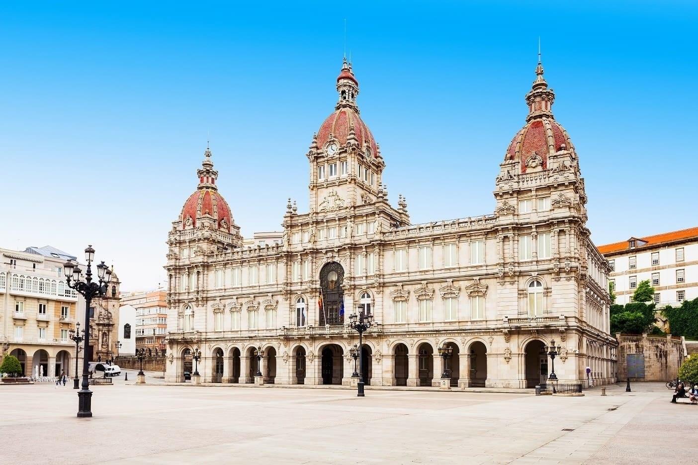 Plaza de María Pita, en A CoruñaPlaza de María Pita, en A Coruña