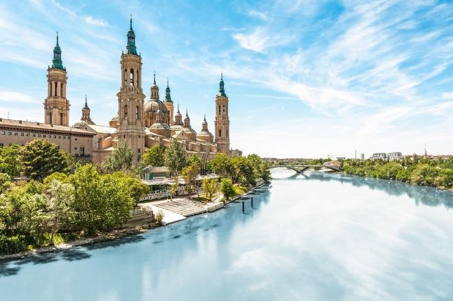 La Basílica del Pilar, en Zaragoza