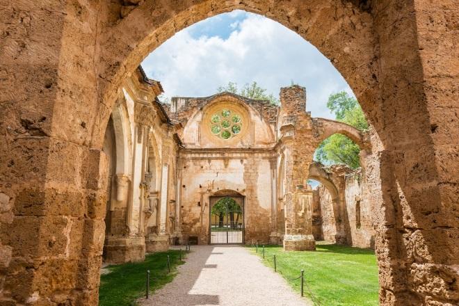 Monasterio de Piedra, en Nuévalos