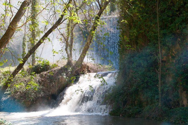 Parque del Monasterio de Piedra, en Nuévalos