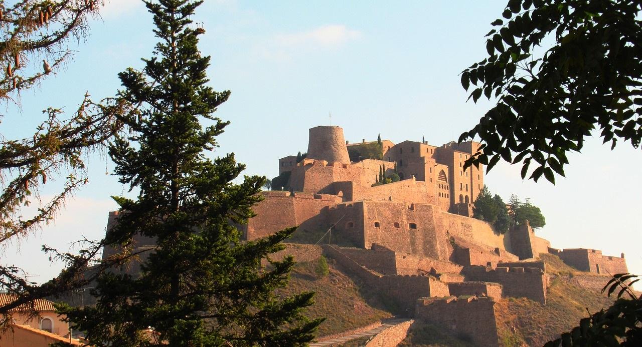 Castillo de Cardona, en Cataluña