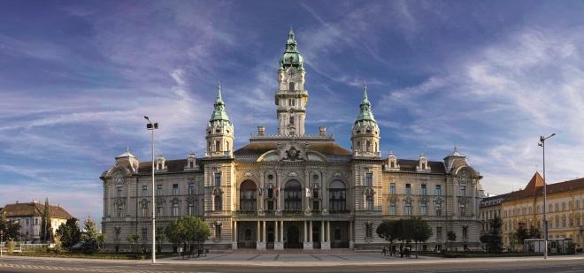 Gyor, en Hungría