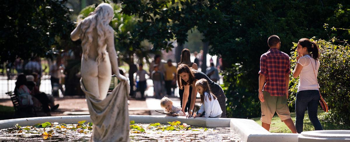 Jardín Botánico, en el barrio de Palermo (Buenos Aires)