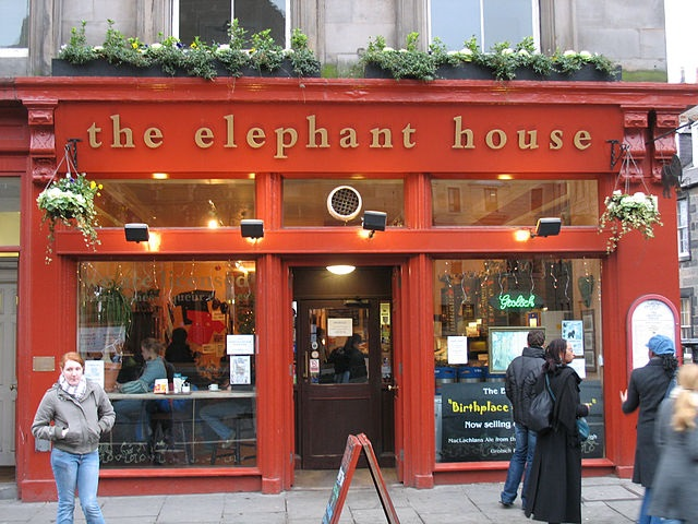 The Elephant House, en Edimburgo