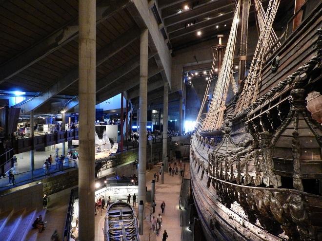 Vasa, museo vikingo de Estocolmo