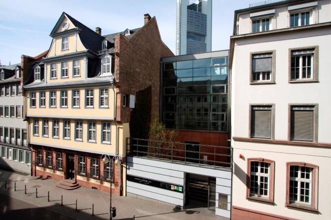 Casa Museo de Goethe, en Frankfurt
