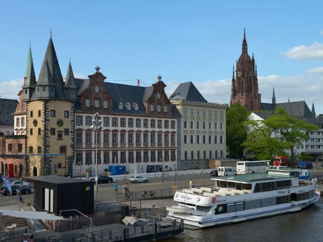 La Orilla de los Museos, en Frankfurt